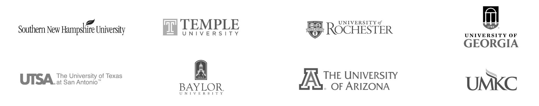 Jobscan University Logos for Website Landing Page
